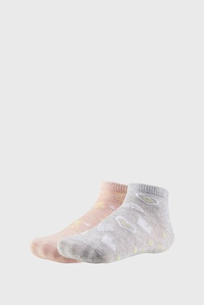 2 PACK чорапи до глезена за момичета Summer