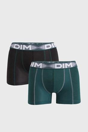 2 PACK черно-зелени боксерки DIM Flex Air