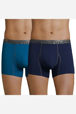 2 pack мъжки боксерки DIM Cotton 3D Flex Blue