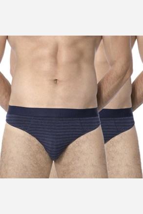 2 pack мъжки слипове ROSSLI Stripes Blue