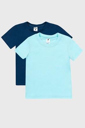 2 PACK сини тениски за момчета