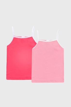 2 PACK розови basic потници за момичета
