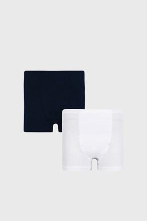 2 PACK синьо-бели боксерки за момчета Basic