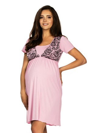 Нощничка за бременни и кърмачки Jilly