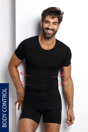 Стягаща тениска с овално деколте PLUS SIZE