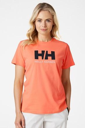 Дамска оранжева фланела Helly Hansen