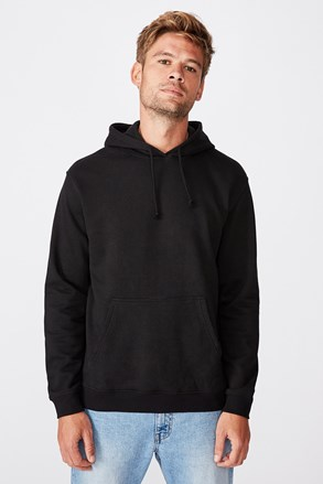 Черно спортно горнище Essential Fleece