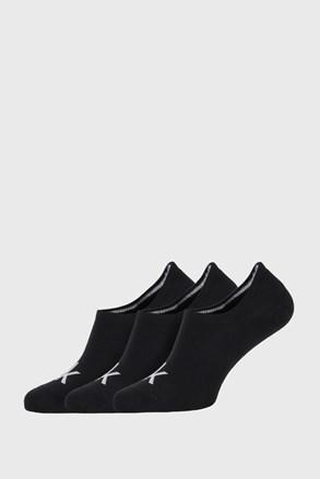 3 PACK черни чорапи Calvin Klein Albert