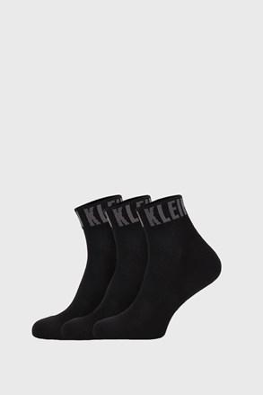 3 PACK черни чорапи Calvin Klein Drake