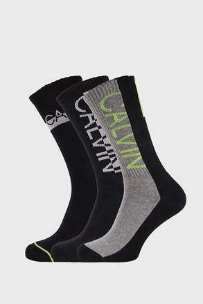 3 PACK по-дълги чорапи Calvin Klein Jesse