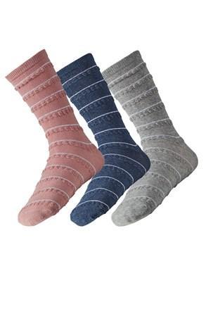 3 pack дамски чорапи Lea