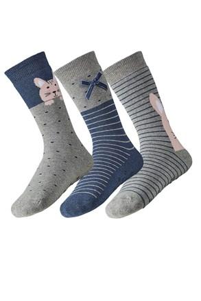 3 pack дамски топлещи чорапи Rina