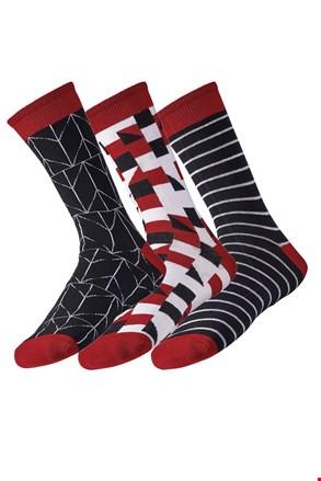 3 pack мъжки чорапи Line
