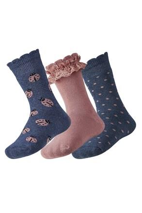 3 pack детски топлещи чорапи Lily