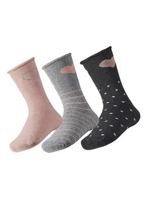 3 pack детски топлещи чорапи Love