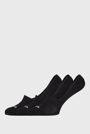 3 PACK черни чорапи FILA Ghost