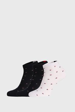 3 PACK чорапи до глезена FILA Navy