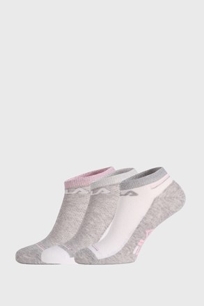 3 PACK чорапи FILA Invisible White