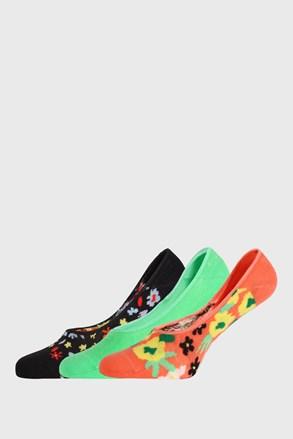 3 PACK чорапи Happy Socks Flower