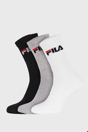 3-pack три цвята по-дълги чорапи FILA
