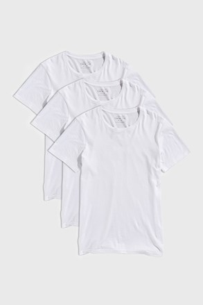 3 PACK бели тениски Austin