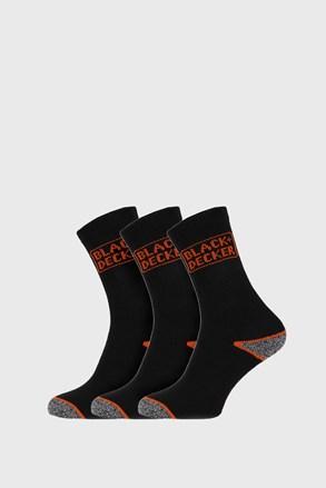 3 PACK чорапи за работа Black and Decker