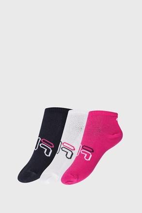 3 PACK чорапи за момичета FILA Invisible