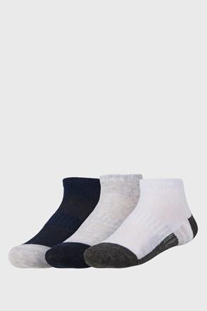 3 pack детски по-къси чорапи Basic