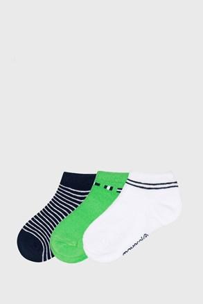 3 PACK къси чорапи Matcha