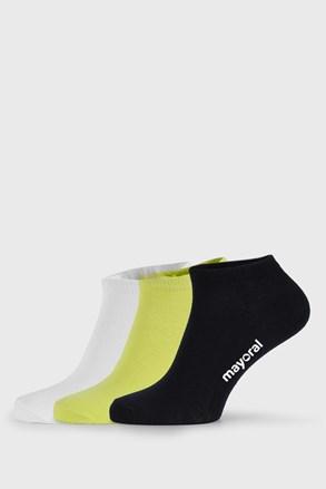 3 PACK детски къси чорапи Mayoral John