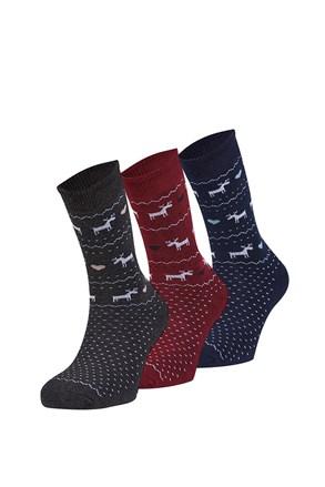 3 pack топлещи чорапи Sabado