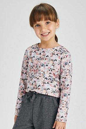 2 PACK блузи за момичета с дълъг ръкав Mayoral Love
