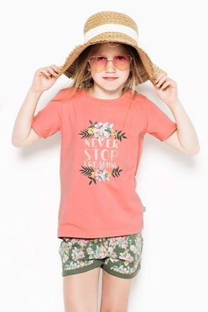 Пижама за момичета Flowers