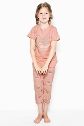 Пижама за момичета Swans