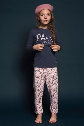 Пижама за момичета Paris 01