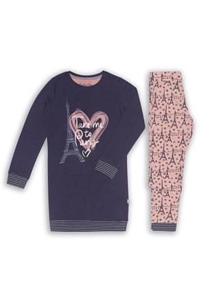 Пижама за момичета Paris 02