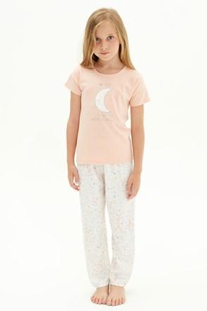 Пижама за момичета To the moon