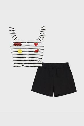 Комплект от потник и шорти за момичета Cool