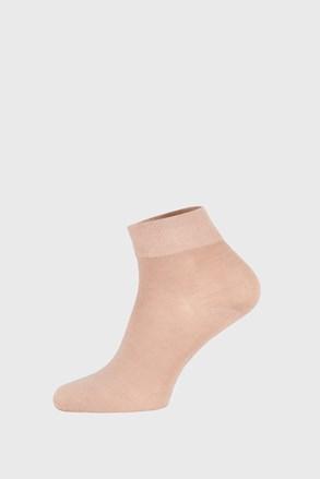 Бежови бамбукови чорапи със средна дължина
