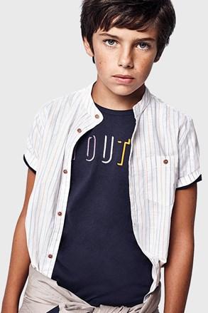 Тъмносиня тениска за момчета Youth Mayoral