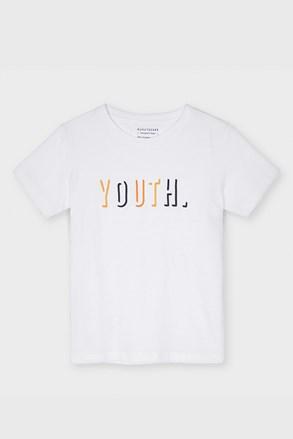 Бяла тениска Mayoral Youth