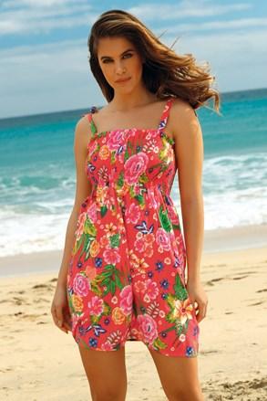 Плажна рокля Leafy Coral