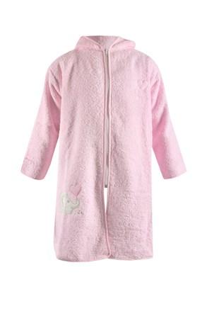 Детски халат Blue Kids розов слон