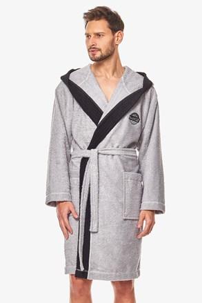 Мъжки халат Michael сив