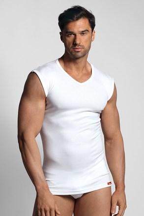 Бяла термо тениска без ръкави