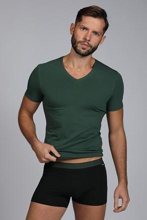 Мъжки сет от тениска и боксерки Raw man зелени
