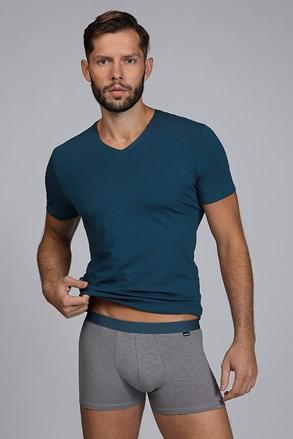 Мъжки сет от тениска и боксерки Raw man синьо-зелен