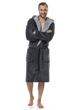 Мъжки халат Adam Grey