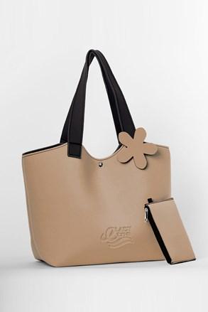 Плажна чанта Lady Etna бежова