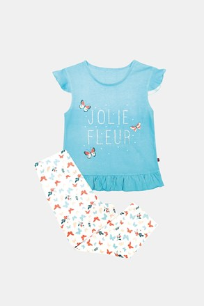 Синя пижама за момичета Lila